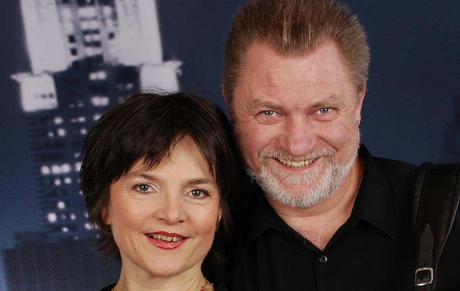 Dorit Meyer-Gastell  und Jurij Kandelja gestalten den Kurt Tucholsky-Abend