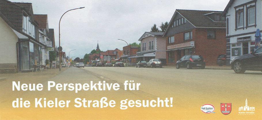 Mit diesem Flyer wirbt die Stadt für die öffentliche Beteiligung
