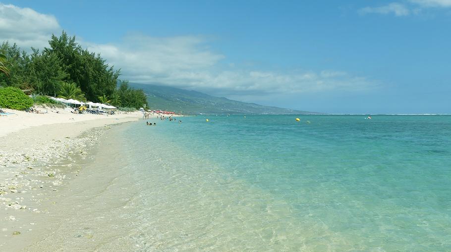 Lagon à La Réunion, là on est quand-même pas mal.