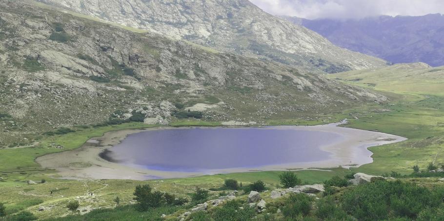Le lac de Ninu