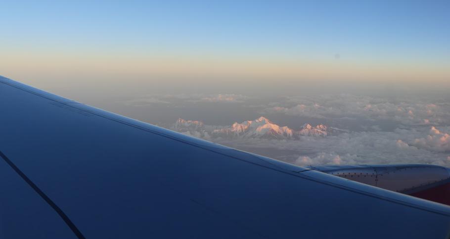 1h30 de vol depuis Paris.