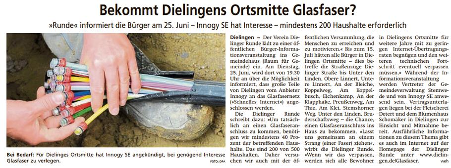 Diepholzer Kreisblatt vom 18.06.2019