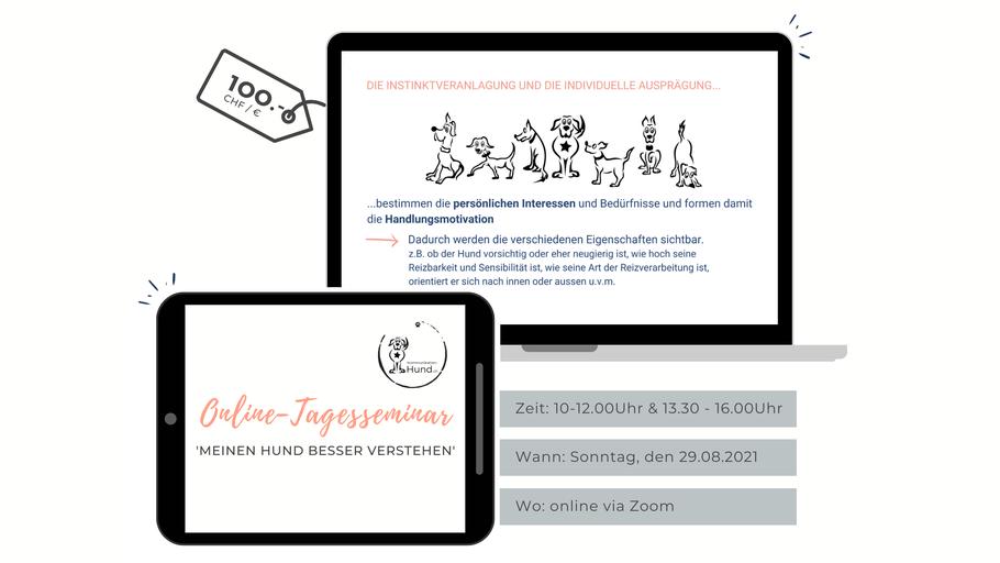 Ausschreibung Online-Tagesseminar
