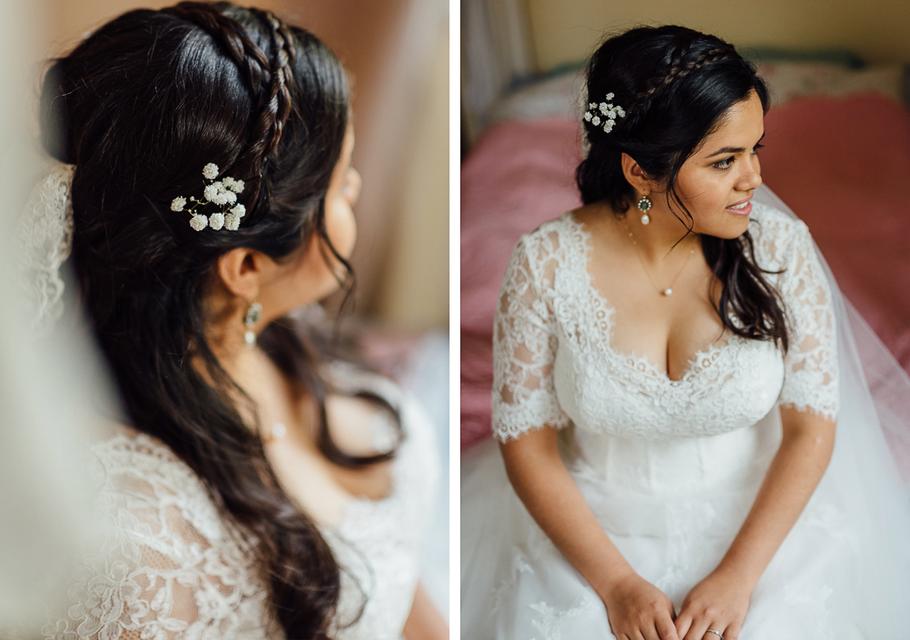 Die Braut Sofia hat Wurzeln in Südamerika