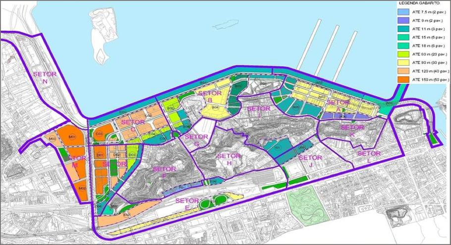 Projet Porto Maravilha (Source : CDURP)