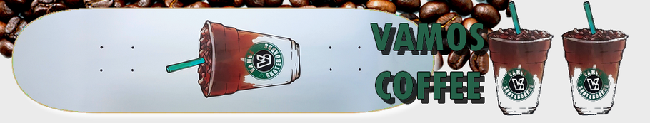 Vamos Skateboards Coffee Price Point Deck / Vamos Skateshop