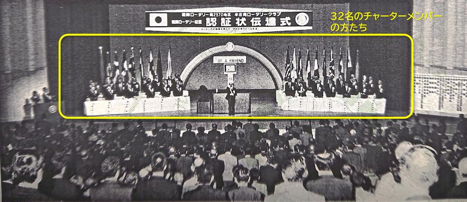 平成6年(1994年)10月1日本庄市民文化会館にて「認証状伝達式」が開催されました。