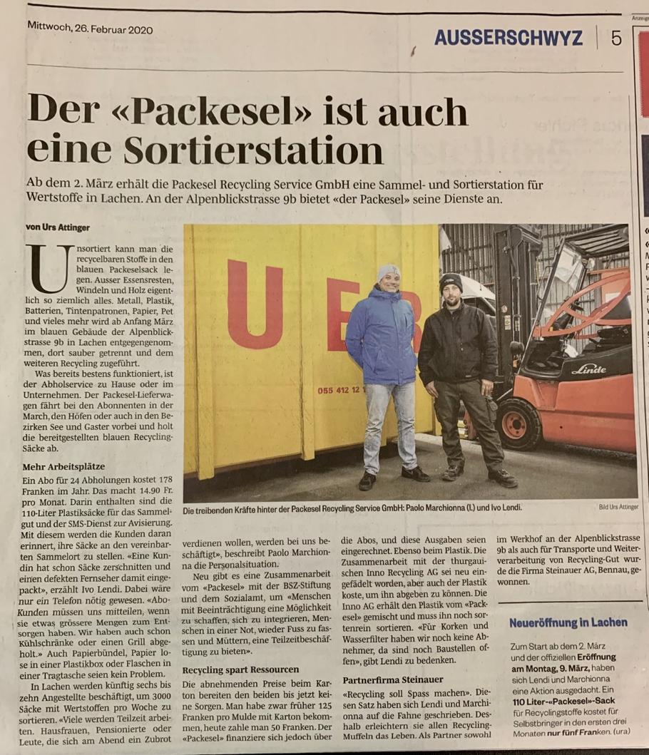 March-Anzeiger 26.02.2020