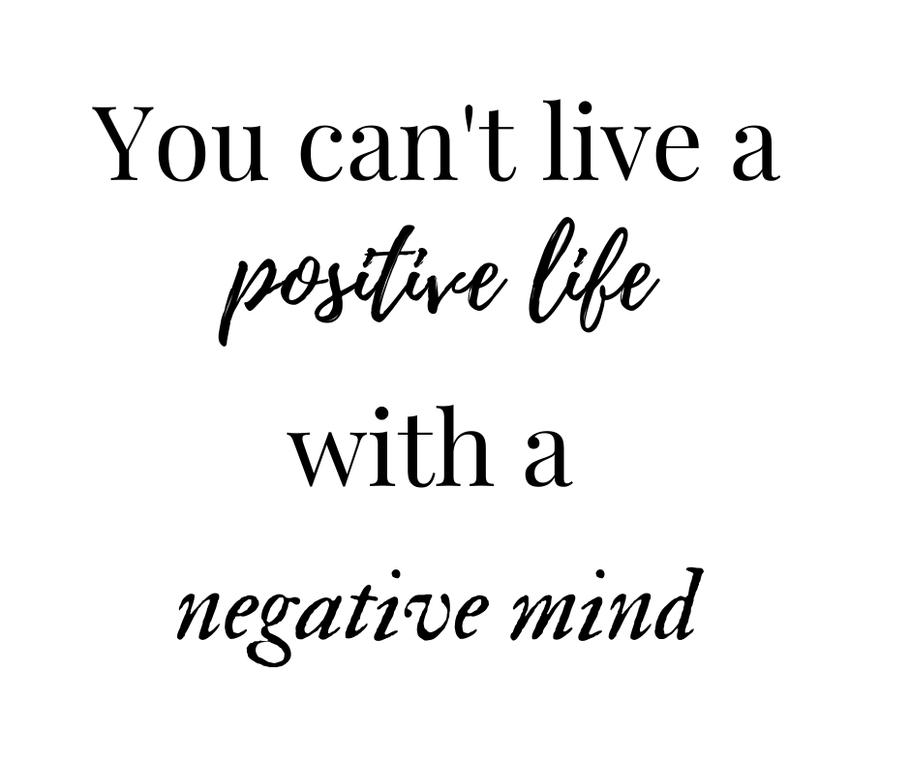 Je kunt geen positieve resultaten behalen met negatieve gedachten. De invloed van onze gedachten op het bereiken van onze doelen in het leven.