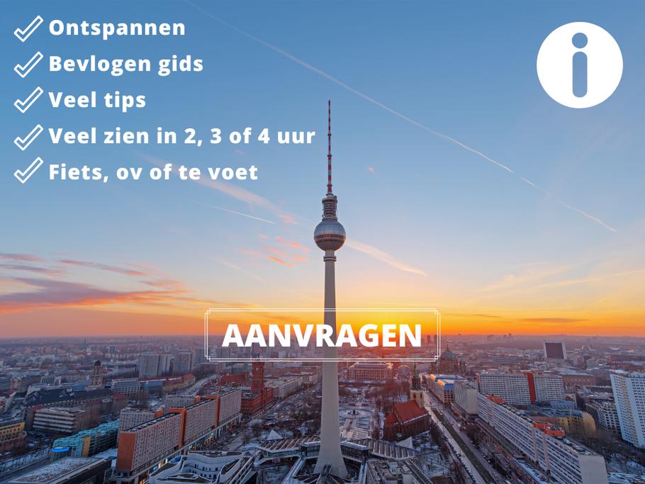 Berlijn op Maat biedt tours in Berlijn met Nederlandse gids voor alle grote en kleine gezelschappen