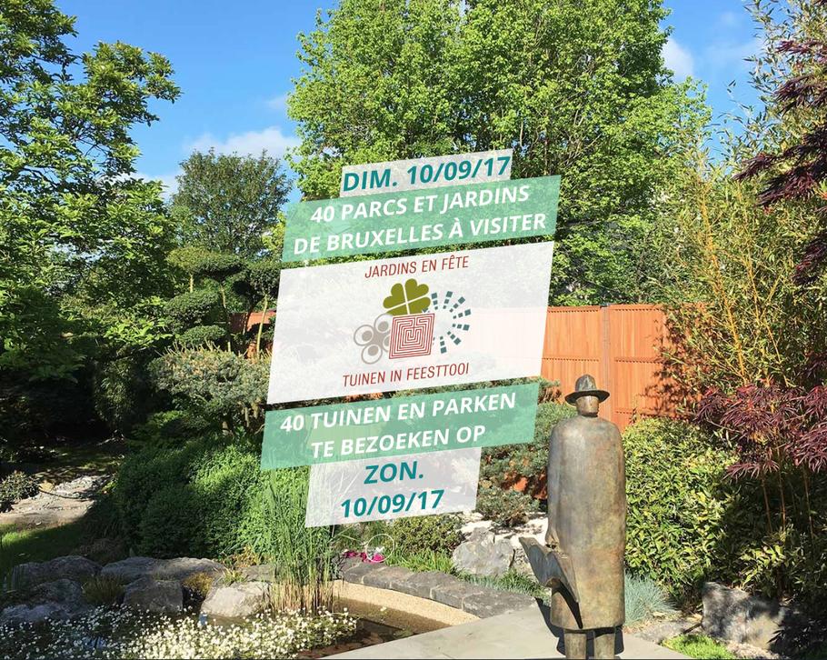Jardins en fête à Bruxelles - Marguerite Ferry - Urban Garden Designer - Bruxelles - Blog Jardin Belgique