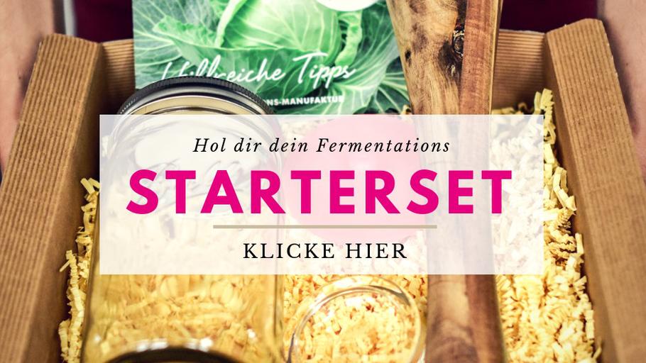 Starterset sauerkraut selber machen fermentiertes gemüse selber machen
