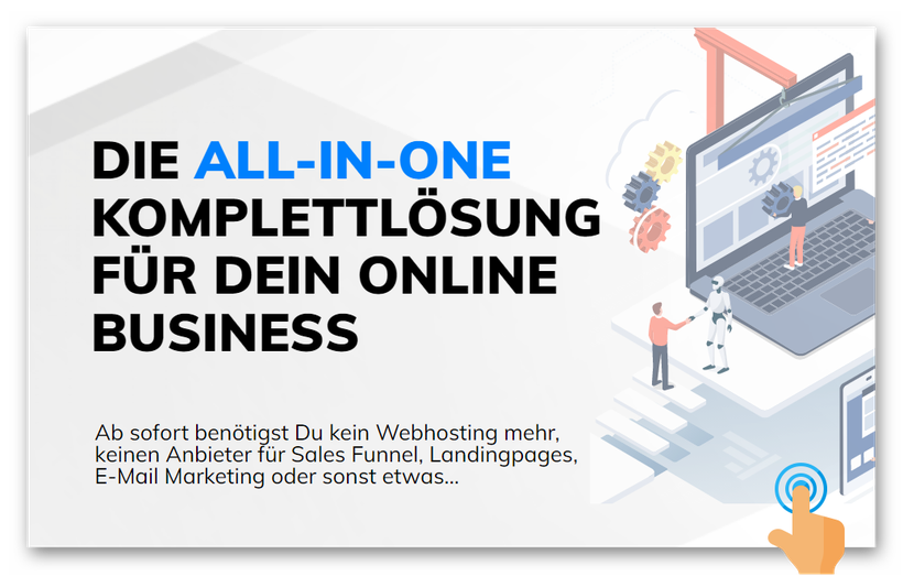 Hole Dir Deine All-In-One Marketing-Business-Tools by SGorges.info