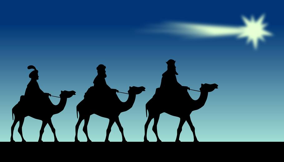 Die drei Sterndeuter aus dem Morgenland
