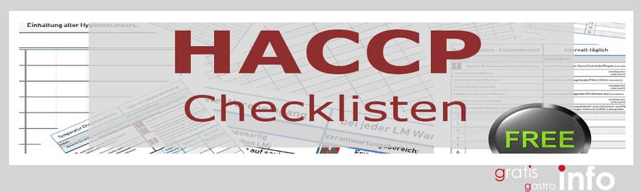 gratis Haccp Listen und Checklisten