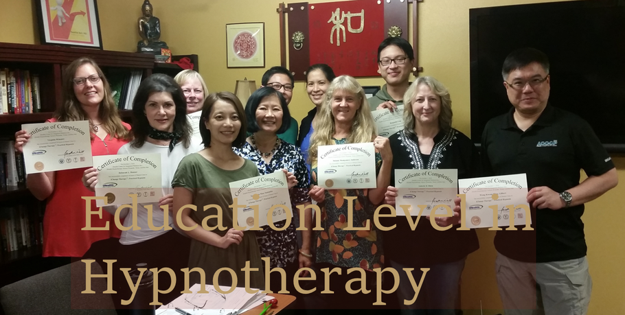 Students earn certificate of completion at iHealth Hypnotherapy School