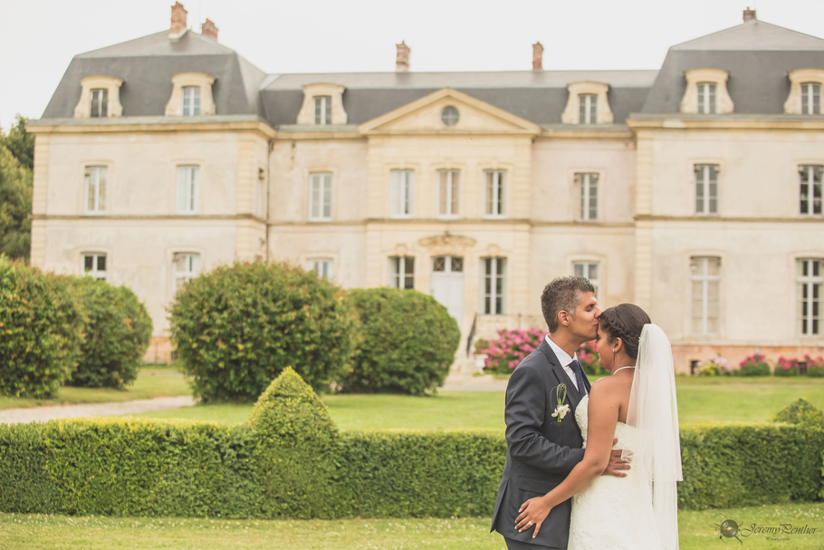 mariage dans un château, art de la table