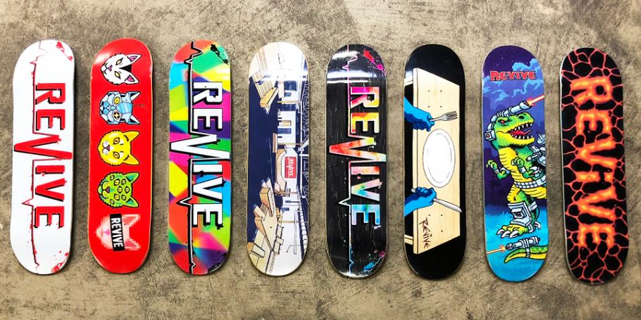 Revive Skateboards Winter 2020 Decks - VMS Distribution Germany Europe