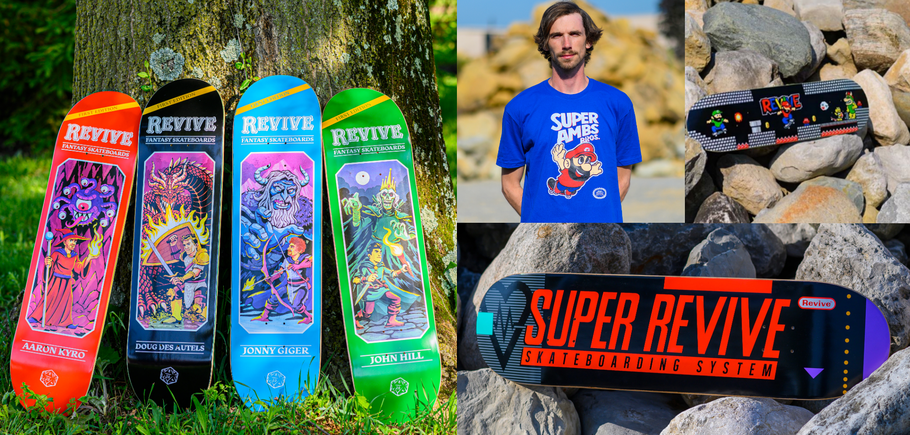 Revive Skateboards Summer 2019 Release Germany Austria Europe / VMS Distribution Europe - Revive Force 3Block Braille