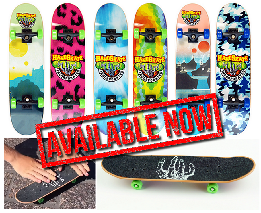 Handskate Handboards - Die Original Handboards von Handskate Incorporated in vielen versch. Designs jetzt bei uns erhältlich! / VMS Distribution Europe