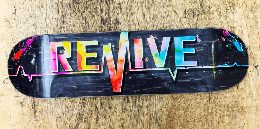 Revive Skateboards VMS Distribution Europe Germany - Revive Tie Dye 3.0 Lifeline Deck OUT NOW - Jetzt erhältlich!