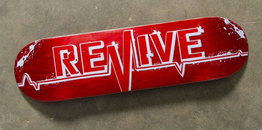 VMS Distribution Europe Revive Skateboards Ultimate RED LIFELINE Deck - Revive Spring 2020 Release in Europe. Now Available at VMS! Shipping to Germany, Austria & all over Europe. Revive Skateboards Spring 2020 jetzt erhältlich in Deutschland, Österreich