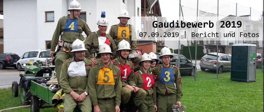 Gaudibewerb am 07.09.2019