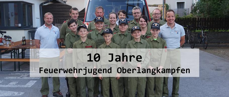 10 Jahre Feuerwehrjugend am 16.09.2019