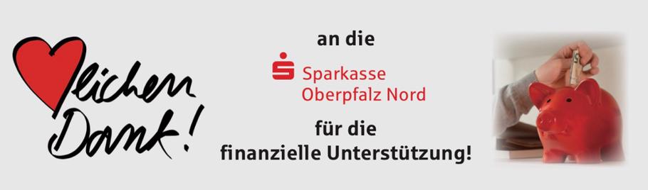 Mit herzlichem Dank an die Sparkasse Oberpfalz Nord für die Spende für die Auslandsfahrt nach Norwegen!