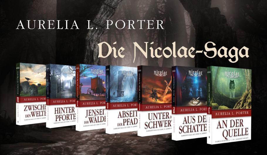 Buecherserie: Die Nicolae-Saga, History & Mystery