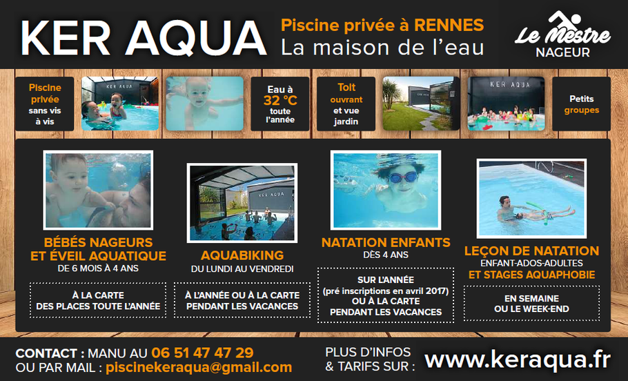 piscine rennes cours