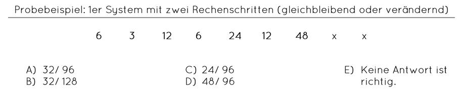 Zahlenfolge Beispiel