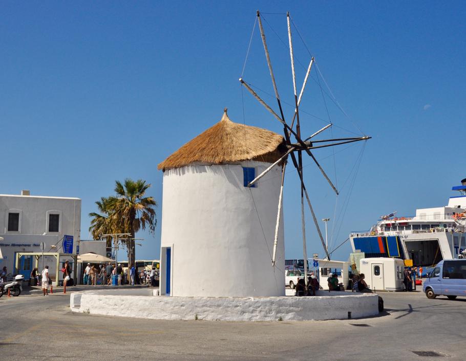 Paros Parikia Windmühle