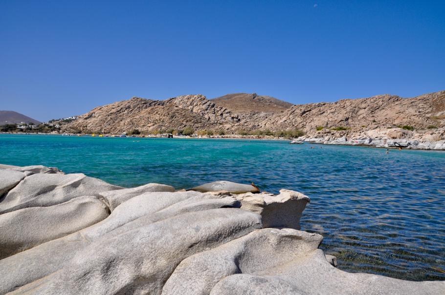 Paros Kolimbithres Beach Bericht