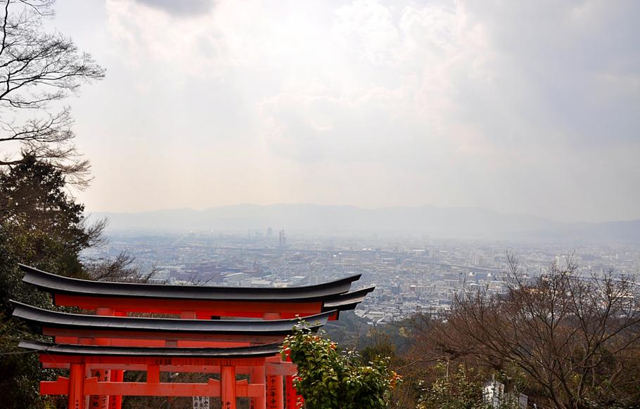 View Fushimi Inari Kyoto