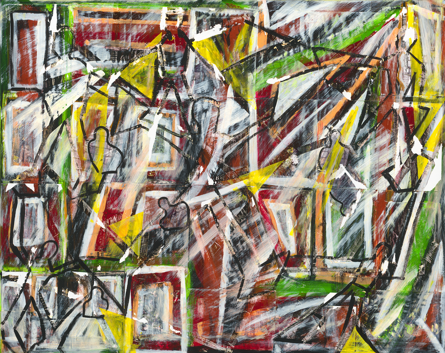 NEW PIECE OF ART #24 – FRIENDSHIP, 150 cm x 120 cm by Marco Madrido