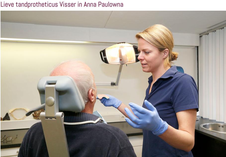 Tandprothetische praktijk Margreet Visser in Anna Paulowna