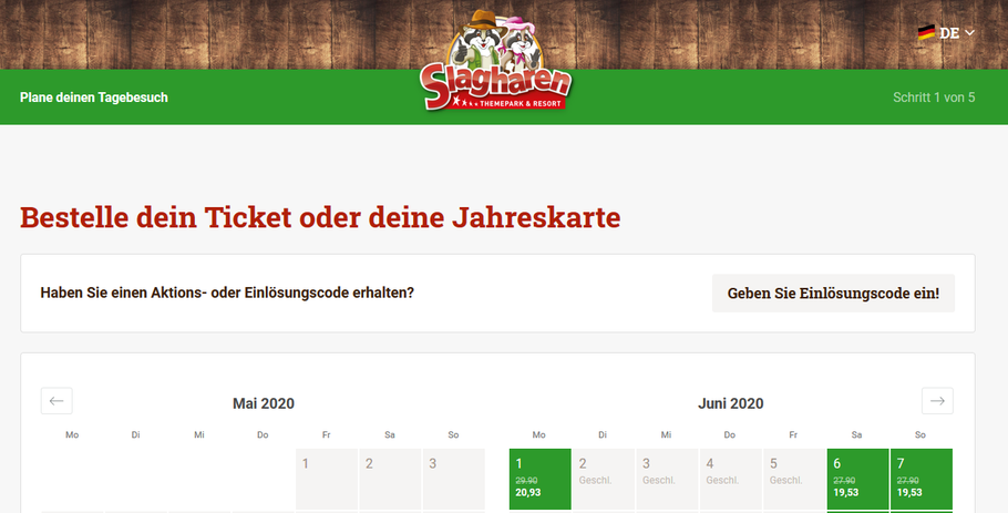 freizeitpark slagharen online tickets corona virus