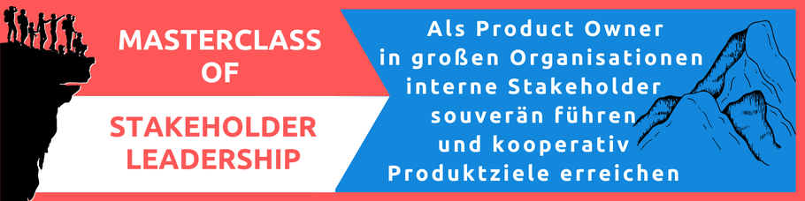 Für Product Owner - Vom Stakeholder Management zum Stakeholder Leadership