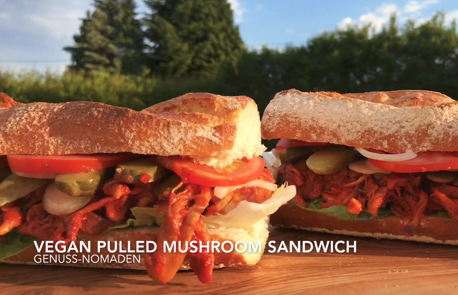 Pulled-Mushroom-Sandwich