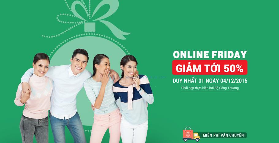Online Friday là cơ hội tuyệt vời giúp các doanh nghiệp thời trang tăng doanh thu...