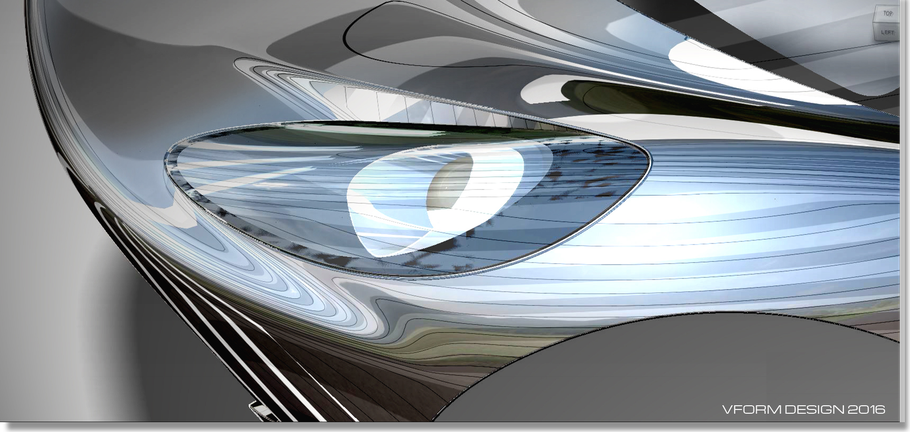 Headlight Study in mixed diagnostic shader
