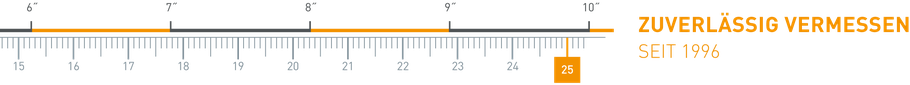 Lineal - Zuverlässig vermessen seit 1996 - Vermessung Büro Kofler