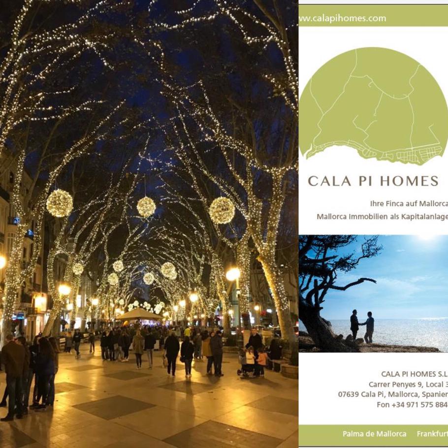Cala Pi Homes Mallorca wünscht fröhliche Weihnachten