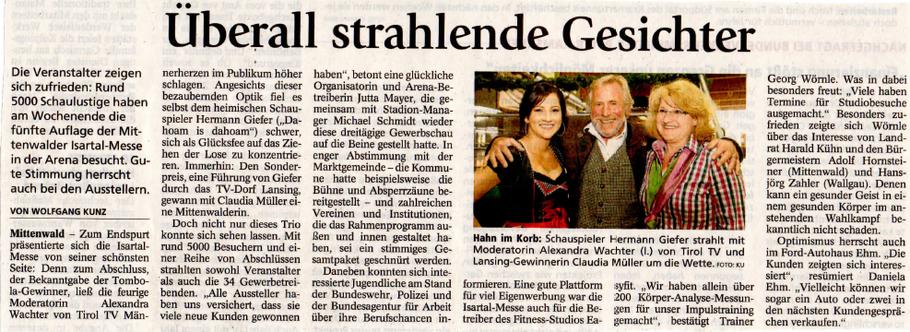 Garmischer Tagblatt 12.05.2013
