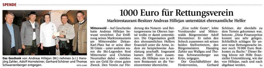 Garmisch-Partenkirchner Tagblatt vom 25.05.2010
