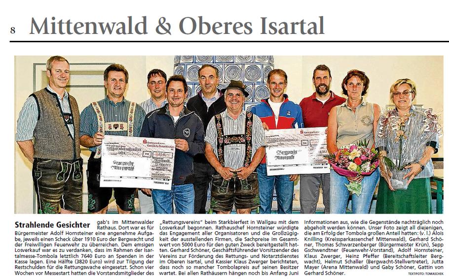 Garmisch-Partenkirchner Tagblatt vom 27.05.2011