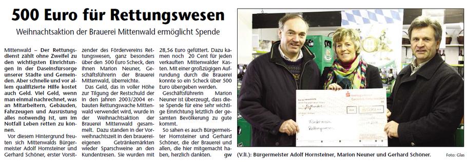 Garmisch-Partenkirchner Tagblatt vom 05.02.2011