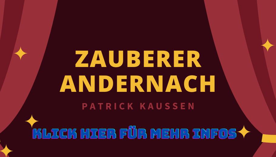 Zauberkunst Patrick Kaußen Idee Feier Betriebsfeier Firmenfeier