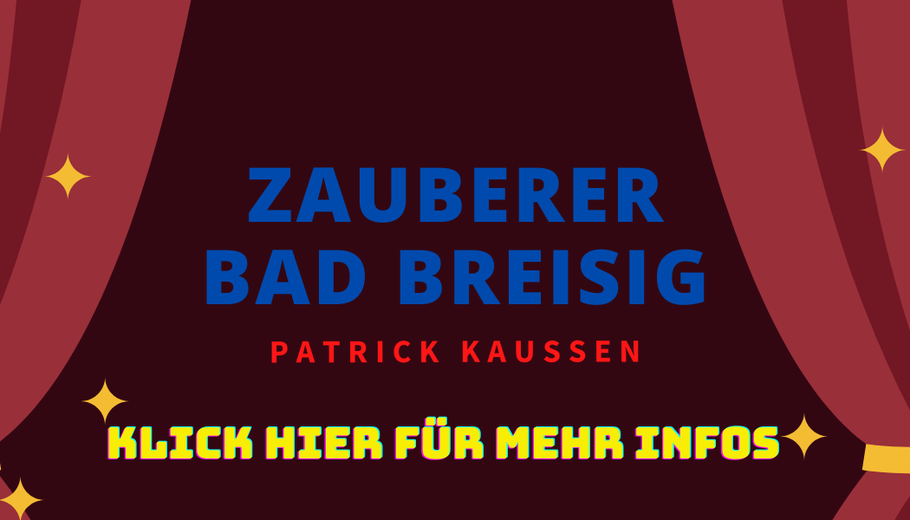 Zauberkünstler Patrick Kaußen  Bad Breisig Idee Feier Betriebsfeier